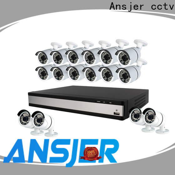 Ansjer cctv electric best 1080p security camera system supplier for office