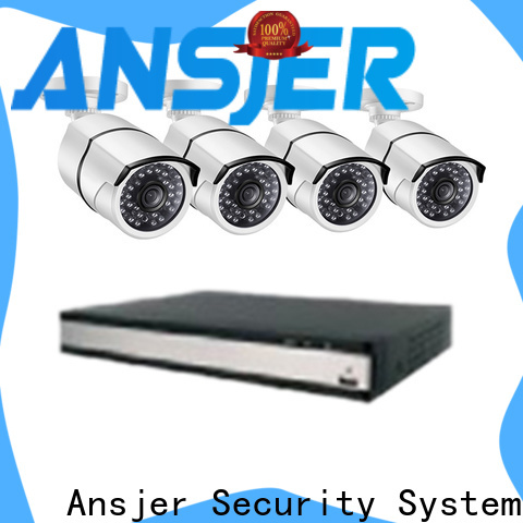 Ansjer cctv email 1080p poe security system series for indoors or outdoors