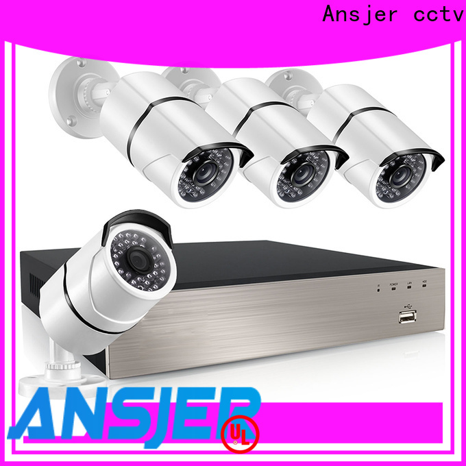 Ansjer cctv nvr 5mp series for indoors or outdoors