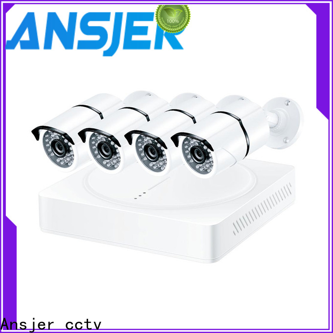 Ansjer cctv camera 5mp surveillance system wholesale for indoors or outdoors