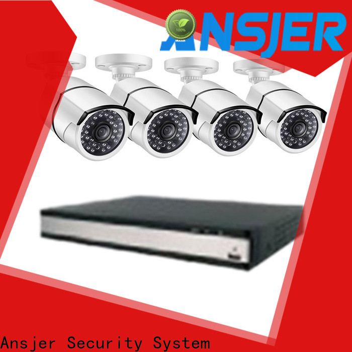 Ansjer cctv alert 2k ip security camera system series for home