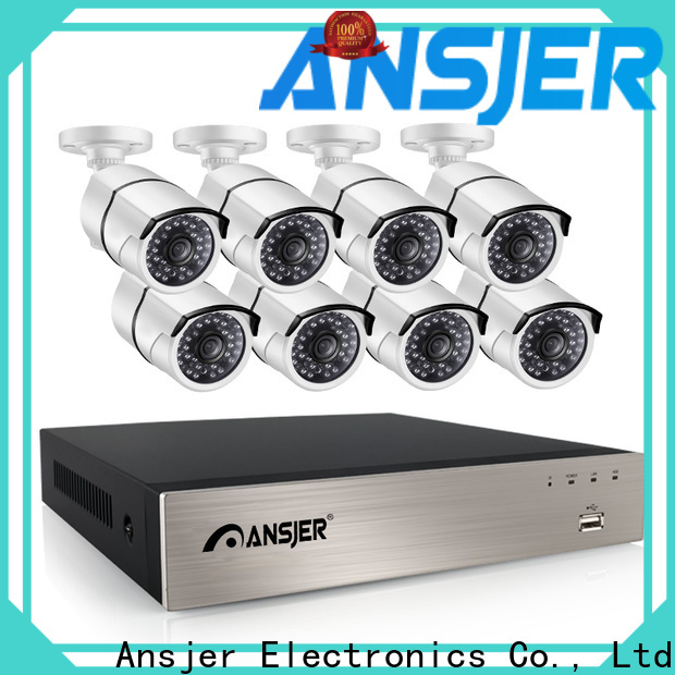 Ansjer cctv electric 5mp nvr supplier for indoors or outdoors