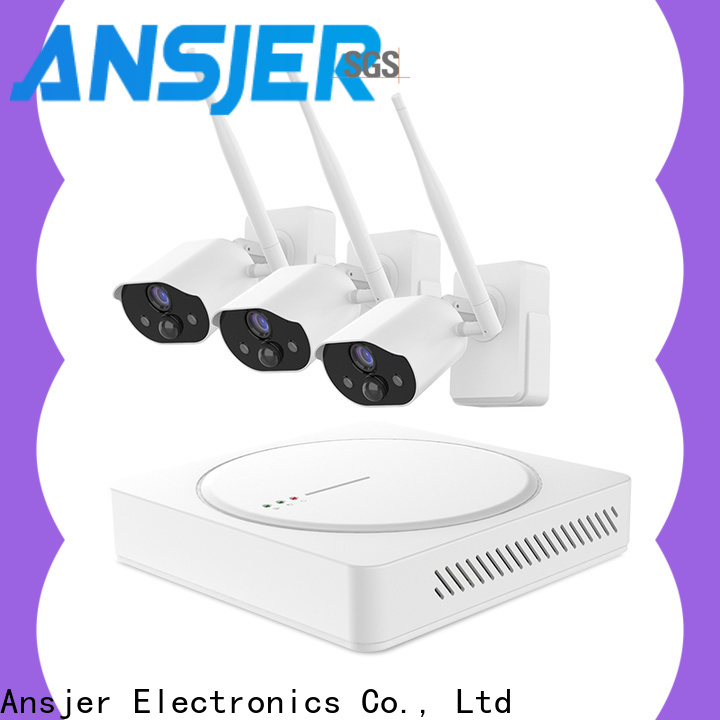 Ansjer cctv wireless smart home monitoring system supplier for surveillance