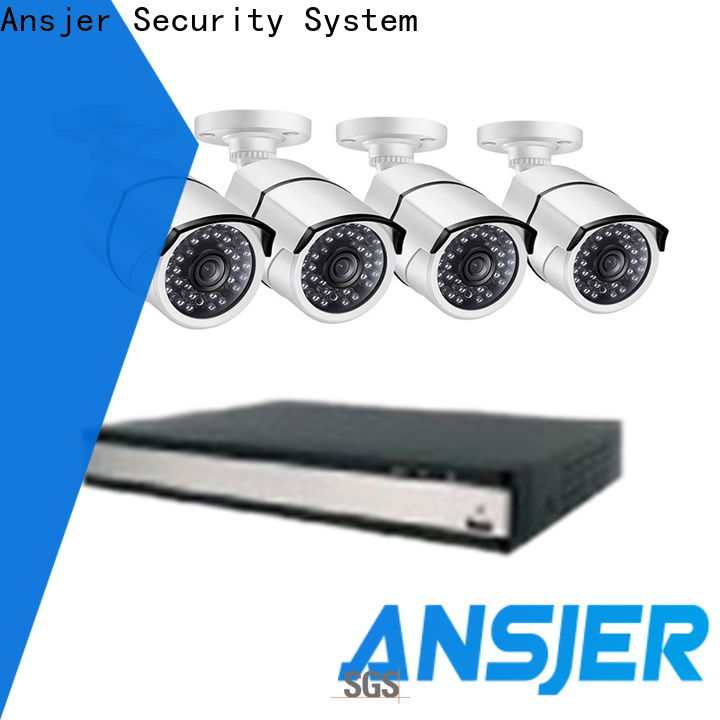 Ansjer cctv vision 2k ip security camera system series for home