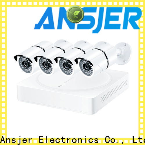 Ansjer cctv electric best 4k security camera system manufacturer for home