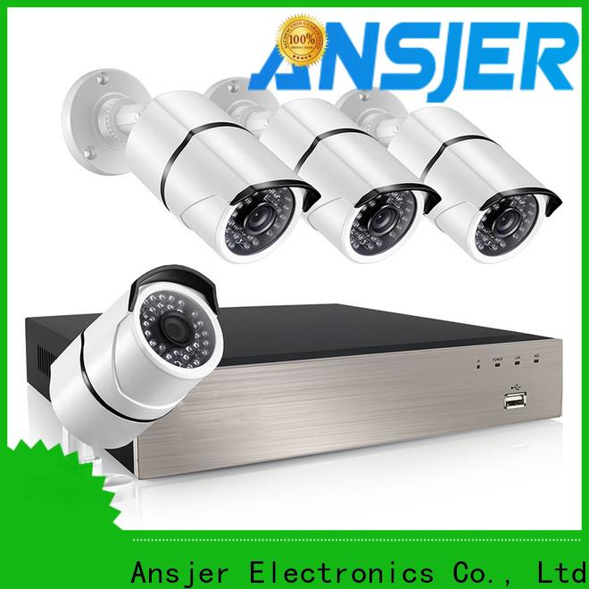 Ansjer cctv vision 1080p poe security camera manufacturer for surveillance