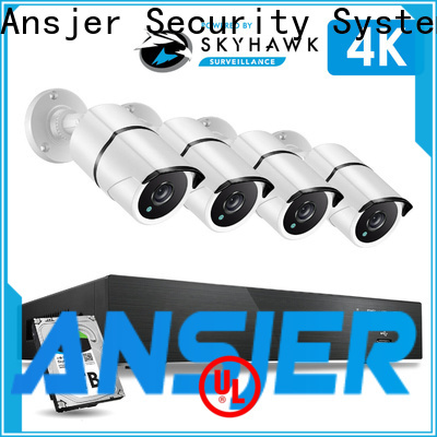 Ansjer cctv electric best 4k security camera system supplier for surveillance