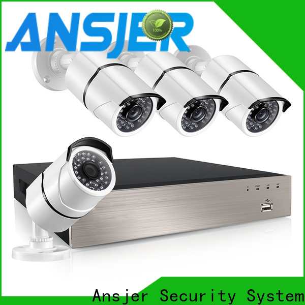 Ansjer cctv electric nvr 5mp manufacturer for home