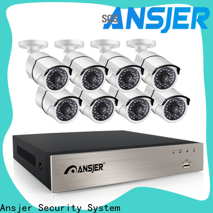 Ansjer cctv durable 5mp poe series for indoors or outdoors