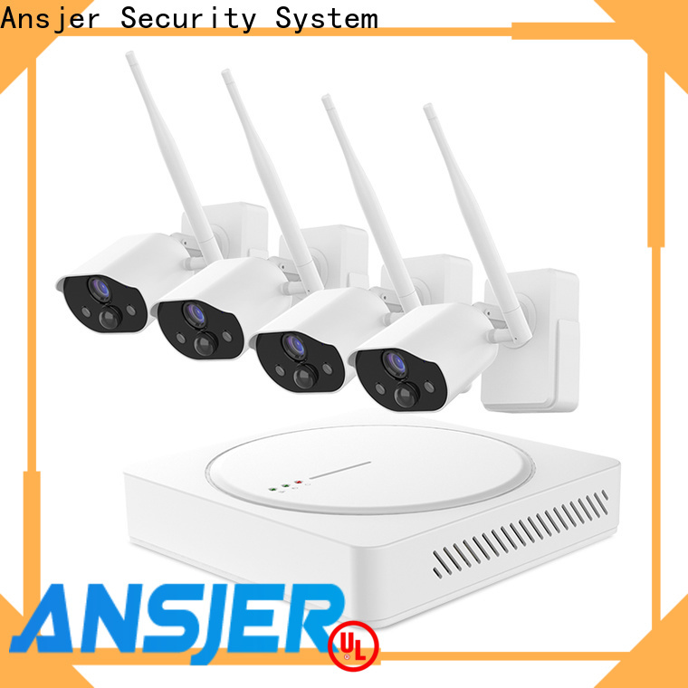 wire-free smart home surveillance system series for office