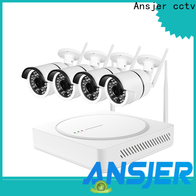 Ansjer cctv channel 1080p hd wireless security camera system series for surveillance