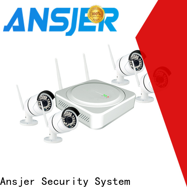 Ansjer cctv high quality wireless surveillance system manufacturer for home
