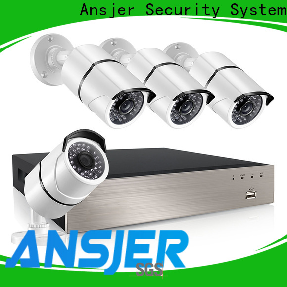 Ansjer cctv viewing 1080p poe nvr manufacturer for home