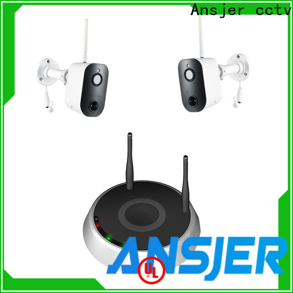 Ansjer cctv wire-free smart home security series for indoors or outdoors