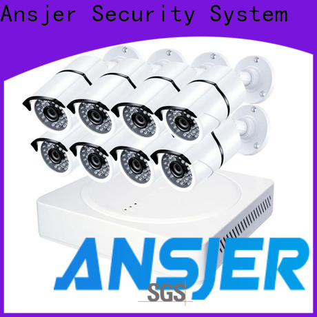Ansjer cctv electric 1080p security camera system supplier for indoors or outdoors