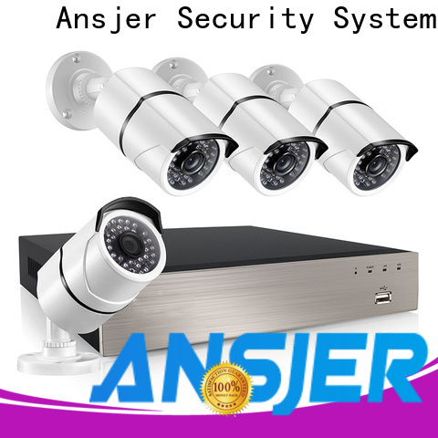 Ansjer cctv high quality ip camera 5mp poe wholesale for home