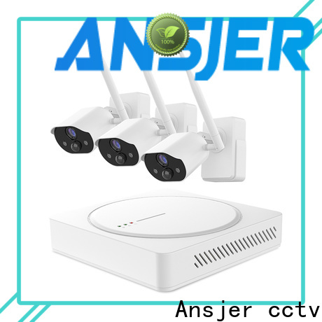 Ansjer cctv wire best smart home security system manufacturer for surveillance