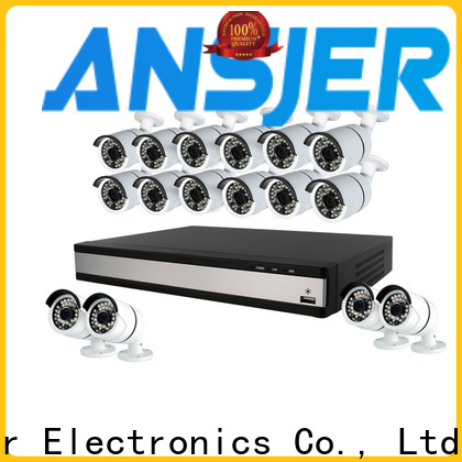 Ansjer cctv full 1080p surveillance system series for home