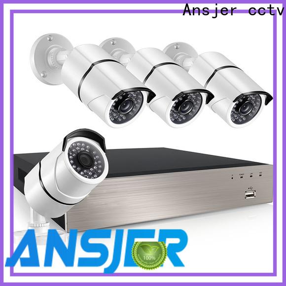 Ansjer cctv alert poe security camera system 1080p wholesale for surveillance