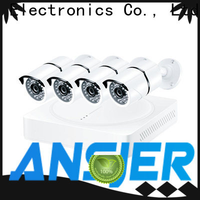Ansjer cctv high quality best 4k security camera system supplier for home