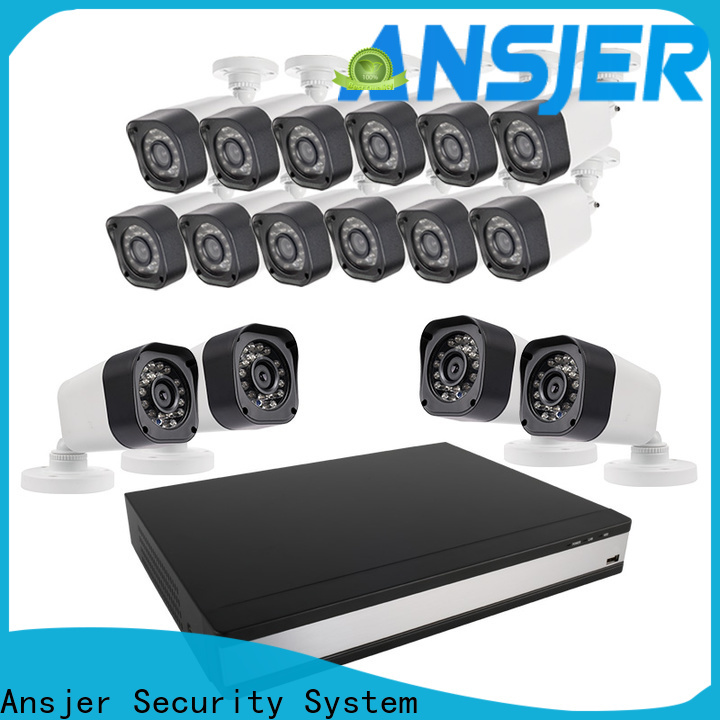 Ansjer cctv electric 720p surveillance camera system supplier for home