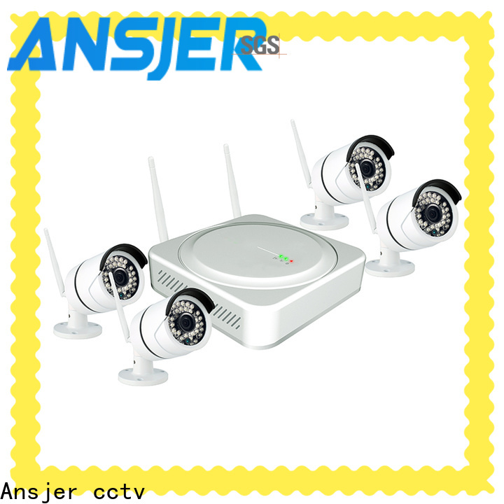 Ansjer cctv high quality best wireless home security system manufacturer for surveillance