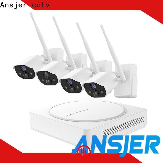 Ansjer cctv high quality smart home surveillance supplier for office