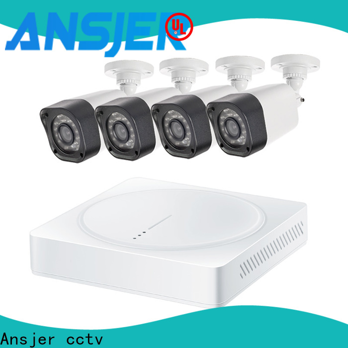 Ansjer cctv channel 720p camera system supplier for indoors or outdoors