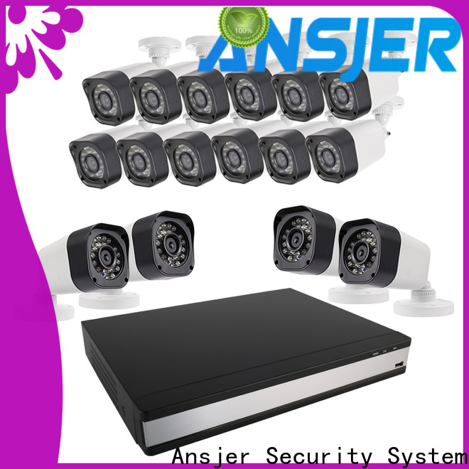 Ansjer cctv best 720p security camera system with night vision for indoors or outdoors