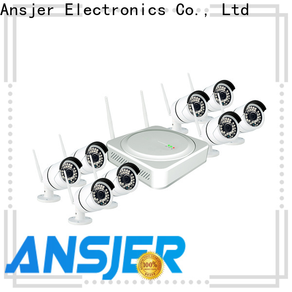 Ansjer cctv wireless 1080p hd wireless security camera system series for surveillance
