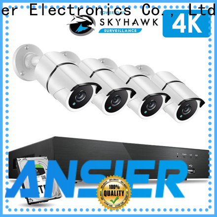 Ansjer cctv security 4k video surveillance system supplier for surveillance