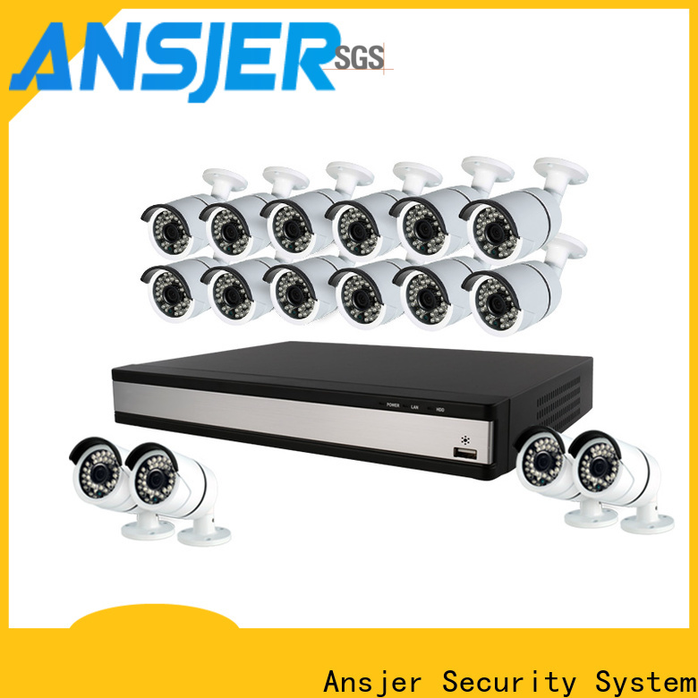 Ansjer cctv durable best 1080p security camera system series for indoors or outdoors