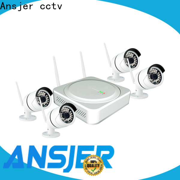 Ansjer cctv internet best wireless home security system series for office