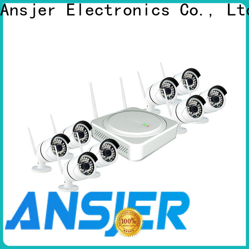 Ansjer cctv video wireless cctv camera system series for indoors or outdoors