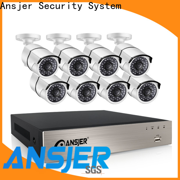 Ansjer cctv outdoor 1080p poe manufacturer for indoors or outdoors