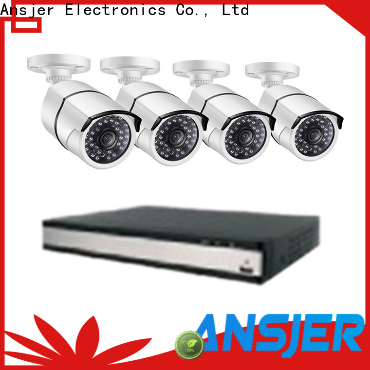 Ansjer cctv outdoor 1080p poe security system manufacturer for office