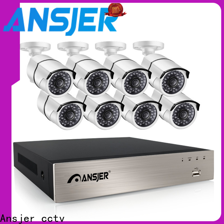 Ansjer cctv high quality 5mp poe camera supplier for indoors or outdoors