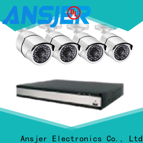 Ansjer cctv vision 2k security camera system series for office