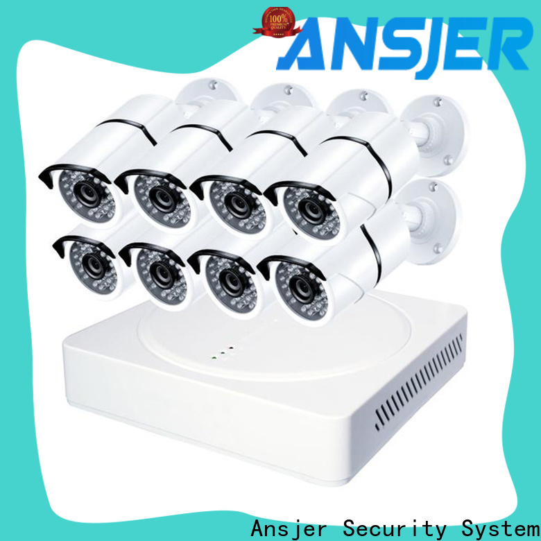 Ansjer cctv home 4k security camera system supplier for home