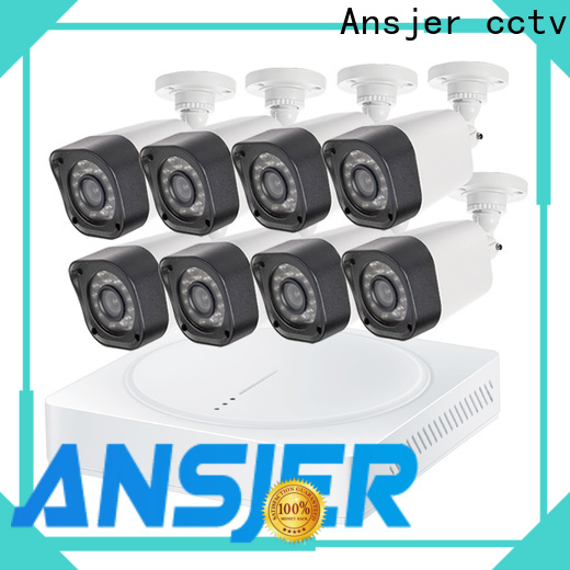 Ansjer cctv 720p hd security camera system supplier for office