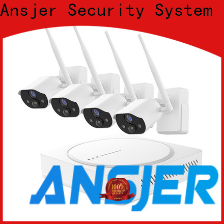 Ansjer cctv high quality best smart home security system supplier for home