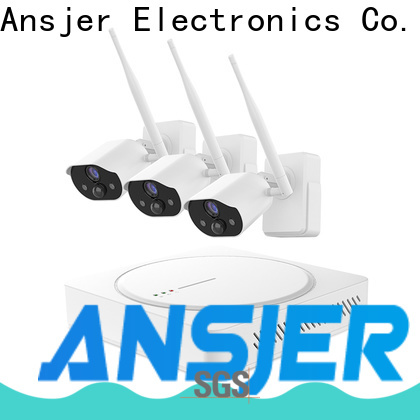 Ansjer cctv wirefree simply smart home security series for indoors or outdoors