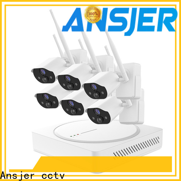 Ansjer cctv security smart home security wholesale for indoors or outdoors