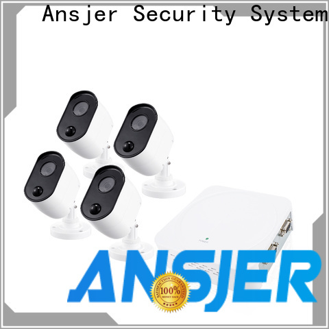 Ansjer cctv security 1080p dvr security system wholesale for office