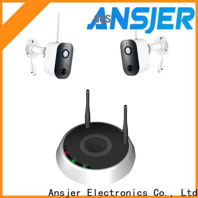Ansjer cctv support smart home surveillance systems wholesale for home