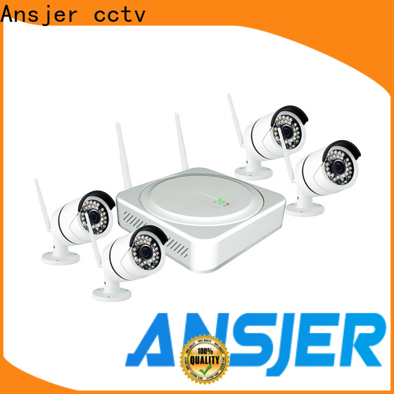 Ansjer cctv channel 5mp wireless security camera wholesale for surveillance