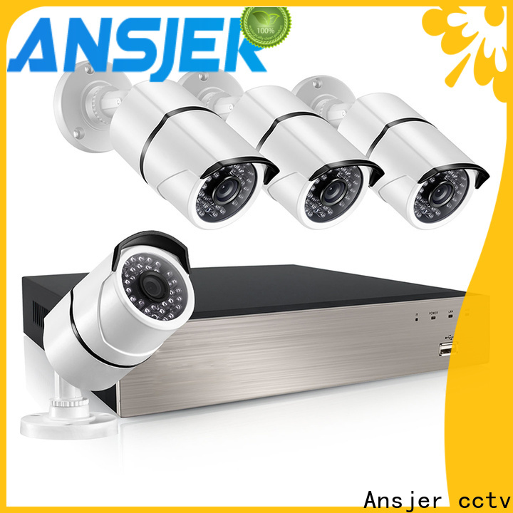 Ansjer cctv night 1080p poe security camera manufacturer for office