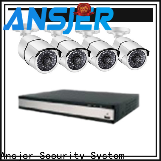 Ansjer cctv electric security camera system 5mp wholesale for office