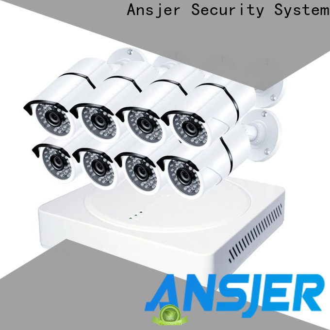 Ansjer cctv system 4k ip camera system wholesale for indoors or outdoors