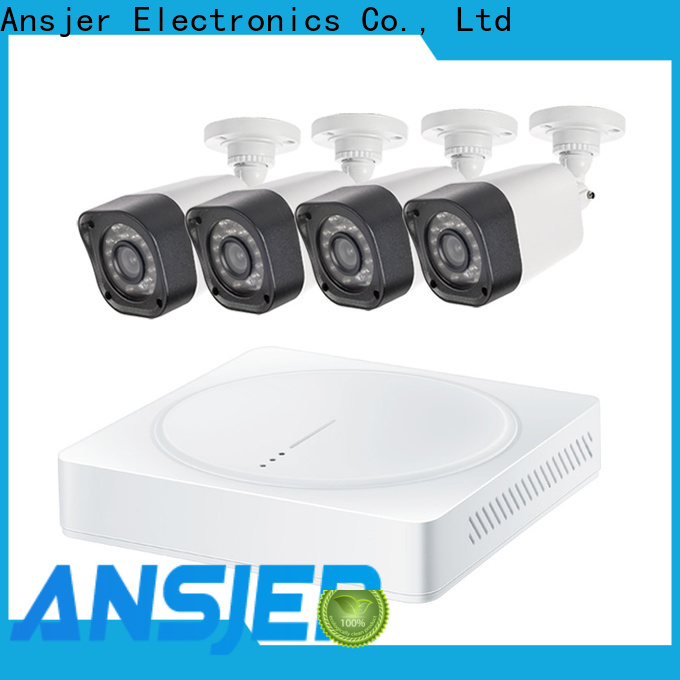 Ansjer cctv durable 720p hd security camera system supplier for office